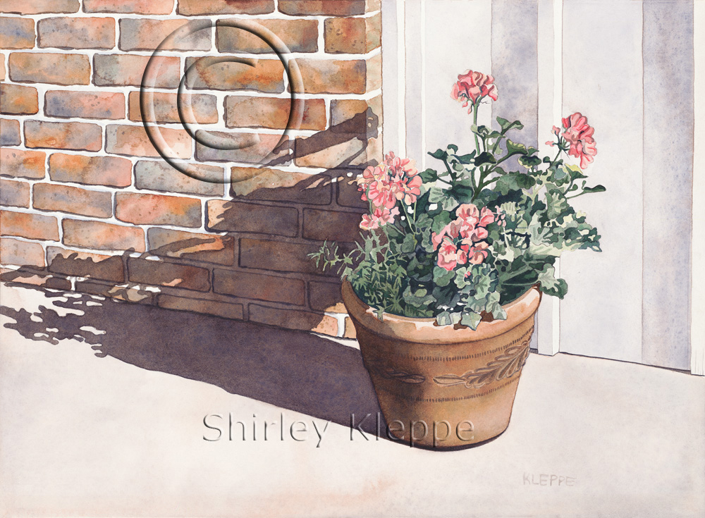 The Story Behind The Art: Dance Door Geraniums