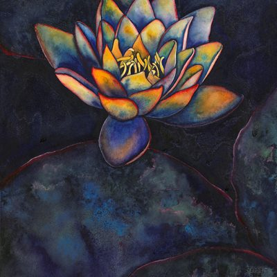 Evening Water Tulip by Shirley Kleppe