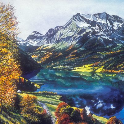 Mountain Lake - The Artwork of Shirley Kleppe