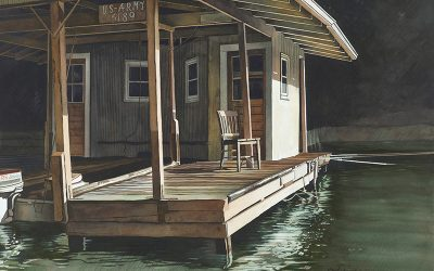 """Army Dock"" by Shirley Kleppe"