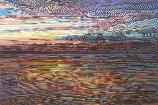 Zambezi Tapestry by Shirley Kleppe